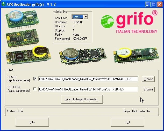 CAN AVR - UK - AVR grifo® Mini Module Atmel AT90CAN128